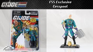 G.I. Joe FSS Exclusive Cesspool Unboxing and Review