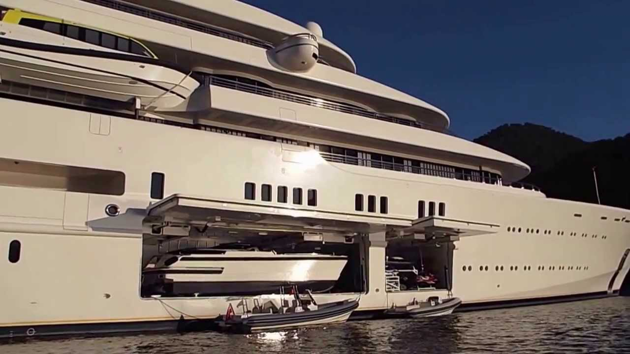 Eclipse yacht interior  Roman Abramovich Motor Yacht Eclipse - YouTube
