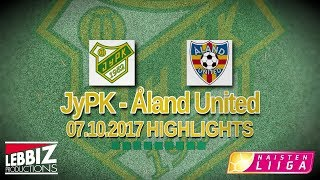 JyPK - Åland United 7.10.2017 Highlights!