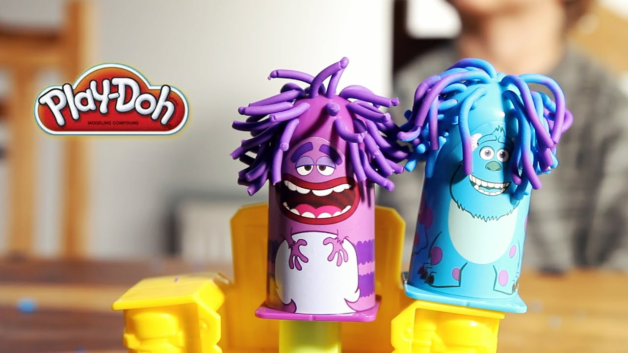 Play-Doh Fun - Monsters University - Scare Chair