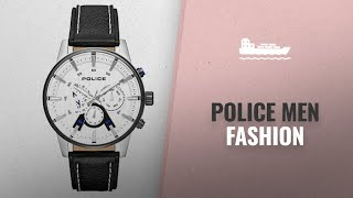Police Men Fashion [Hot New Arrivals 2018]: Police 15523JSTB-04 Mens Avondale Watch