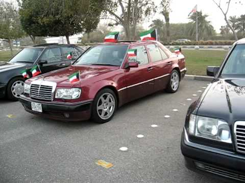 MERCEDES-BENZ CLUB W124 500E/E500 KUWAIT 1