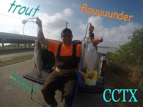 Rincon Channel Wade Fishing || Corpus Christi, TX