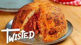 Giant Pizza Dome Spiral Recipe