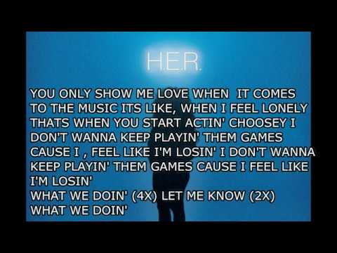H.E.R.- Losing Lyrics