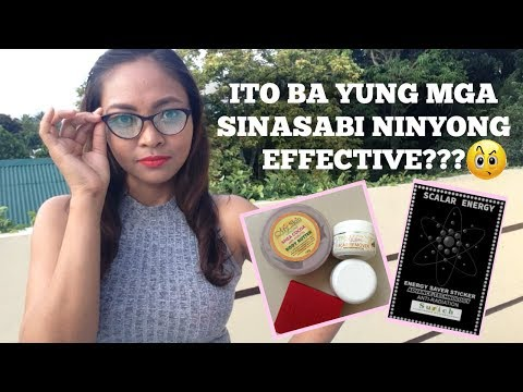 EFFECTIVITY TEST: My Skin Origins Products & Surich Scalar Energy Sticker PART 1 | Janeth Elejorde