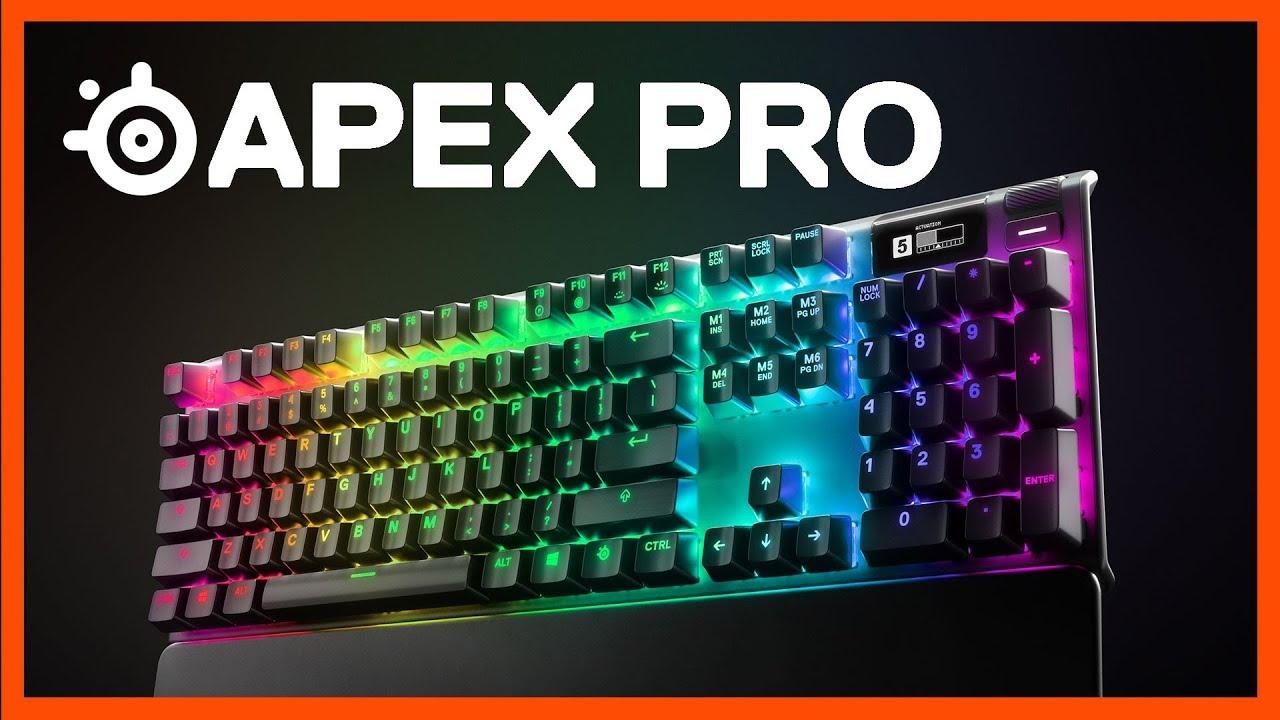 SteelSeries Apex Pro Gaming Tastatur