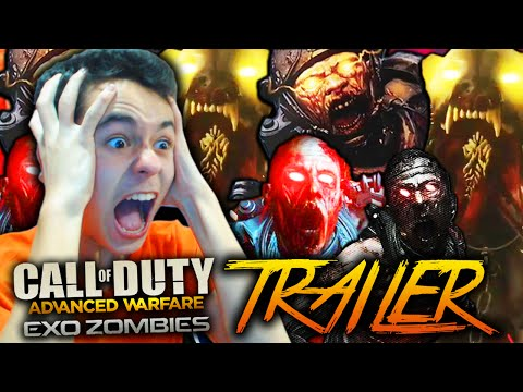 "Call Of Duty: Advanced Warfare ""EXO ZOMBIES"" Trailer - DLC HAVOC COD AW!"