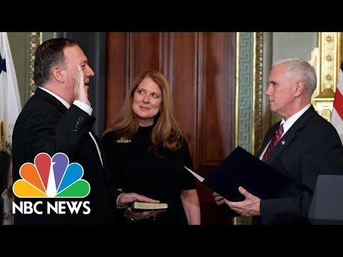 Mike Pompeo Sworn In As CIA Director | NBC News