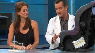 Car Seat Safety Tutorial on The Doctors