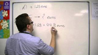 GCSE Maths from Scratch 6.09 Foreign Currency Exchange