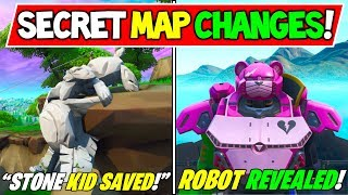 "* NUEVO* FORTNITE SECRET MAP CAMBIOS v9.40 ""ROBOT TOTALMENTE CONSTRUIDO!"" + ""Stone Kid Saved!"" Temporada 9 Story End"