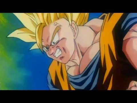 Dragon Ball Z - Goku Turns Super Saiyan 3 for the First Time