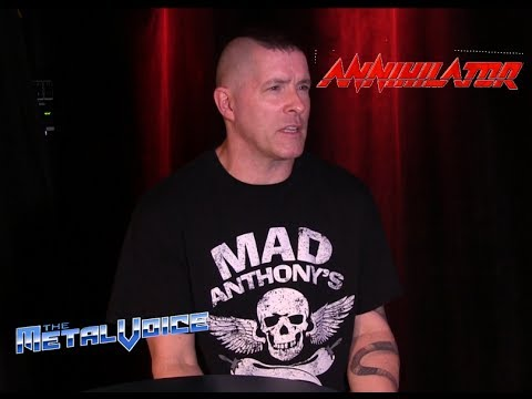 Annihilator Jeff Waters Interview-Talks Lyrical Theme new album-For The Demented