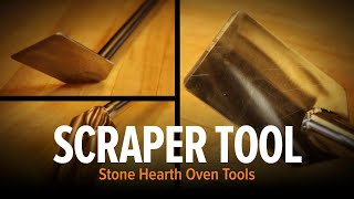 Wood Stone Oven Scraper Tool
