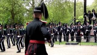 Norwegian ceremonial guards in London