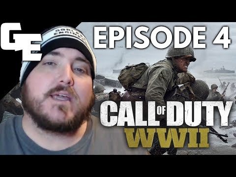 Holding A Stronghold Against The Nazi's In Marigny || Call Of Duty WWII, EP 4