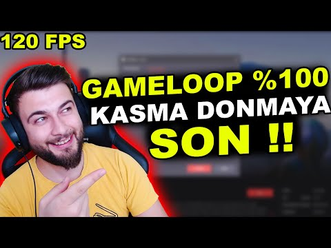GAMELOOP KASMA SORUNU %100 ÇÖZÜM / 120FPS PUBG MOBİLE / PUBG MOBİLE KASMA SORUNU 2021