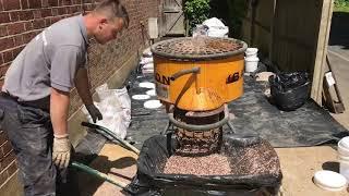 Installing Resin Bound Gravel - Desgin & Build Landscape Garden