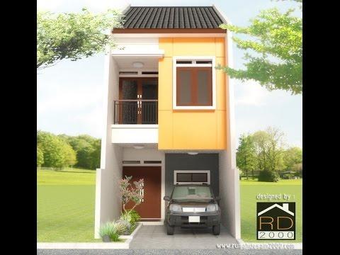 Desain rumah minimalis 2 lantai gratis Rumah Desain 2000  YouTube
