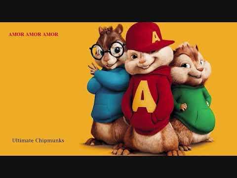 Jennifer Lopez - Amor, Amor, Amor ft. Wisin(High Quality) Chipmunks