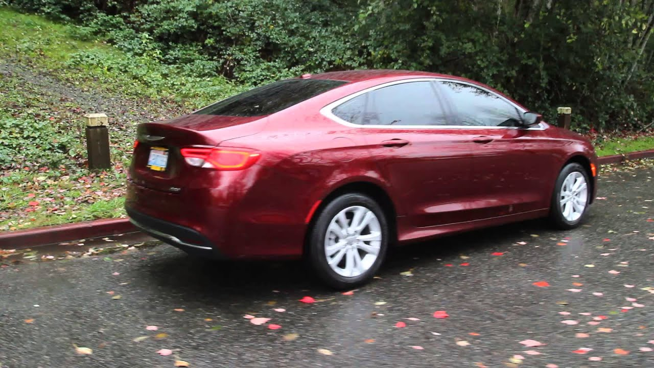 2015 Chrysler 200 Limited Red >> 2015 Chrysler 200 Limited Velvet Red Pearlcoat Fn521432 Kirkland Redmond Bellevue