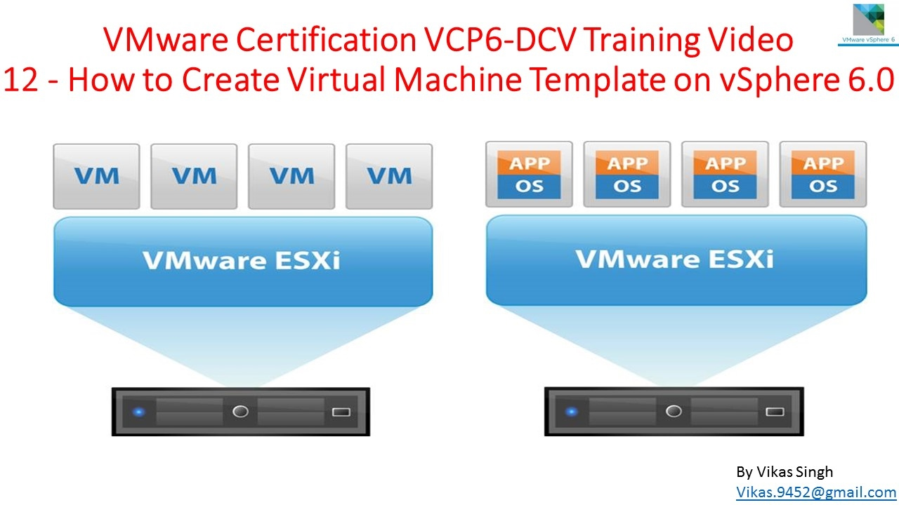 Vmware Certification Vcp6 Dcv Training 12 How To Create Virtual