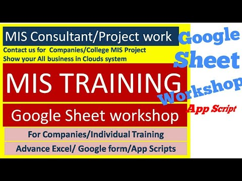 MIS CONSULTANT COMPANIES MIS PROJECT DATA ANALYST Google Sheet