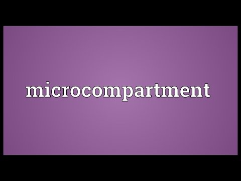 Microcompartment Meaning