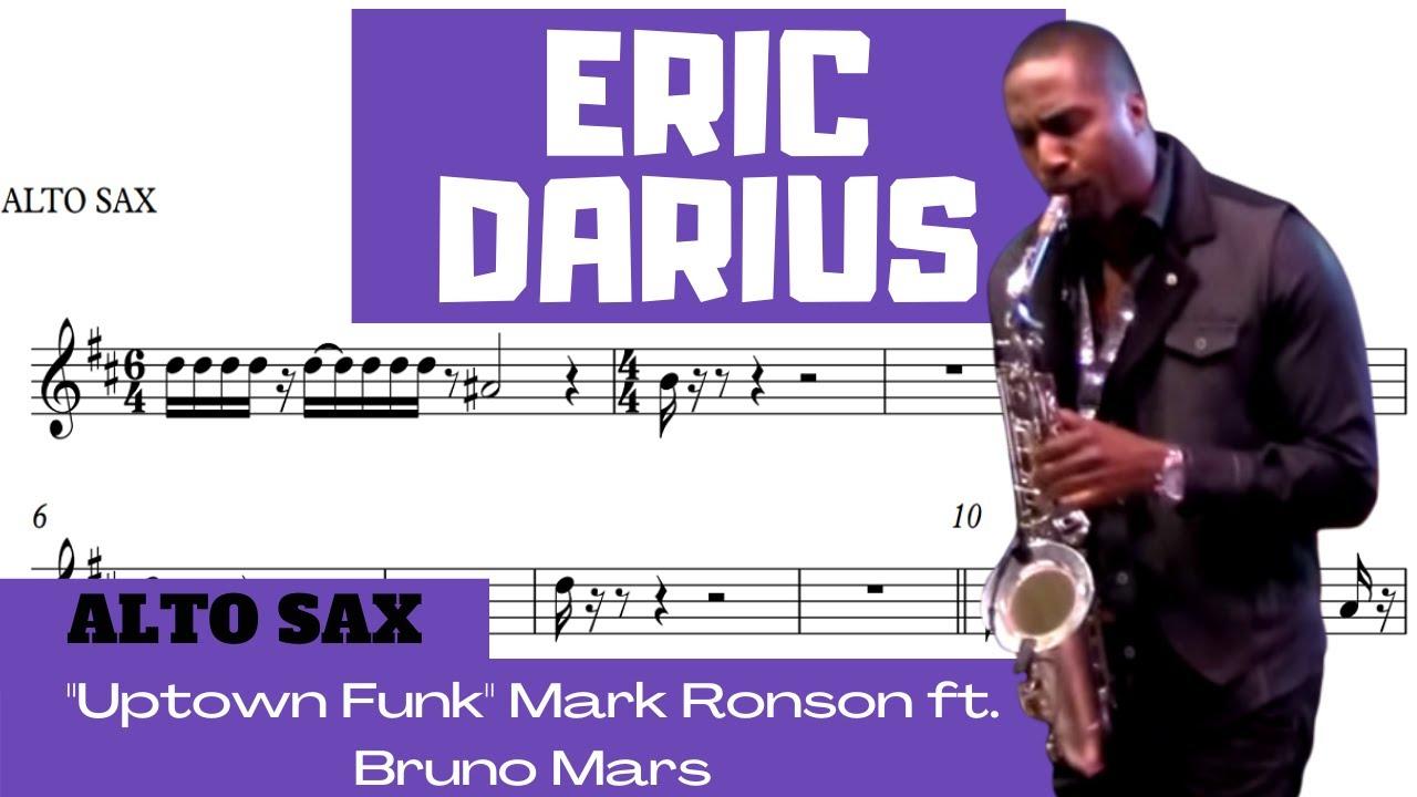 """Uptown Funk"" Mark Ronson ft. Bruno Mars [ERIC DARIUS] The Cannonball Band [ALTO SAX]"