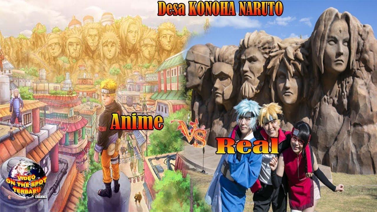Desa KONOHA NARUTO Ternyata Benar² Ada Dunia Nyata Bukan Hanya Sekedar Anime