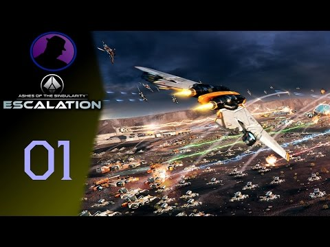 Let's Play Ashes Of The Singularity Escalation - Ep. 1 - Tutorialization!