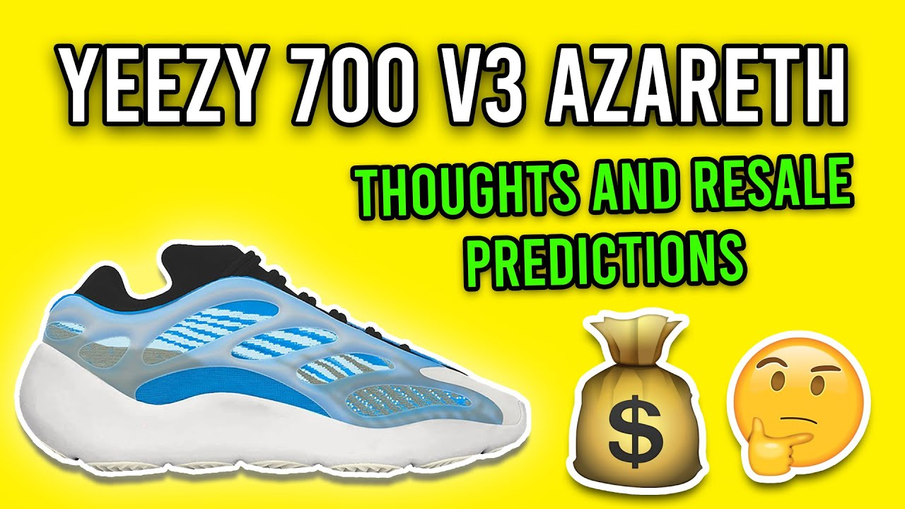 Adidas Yeezy 700 V3 Azareth Arzareth
