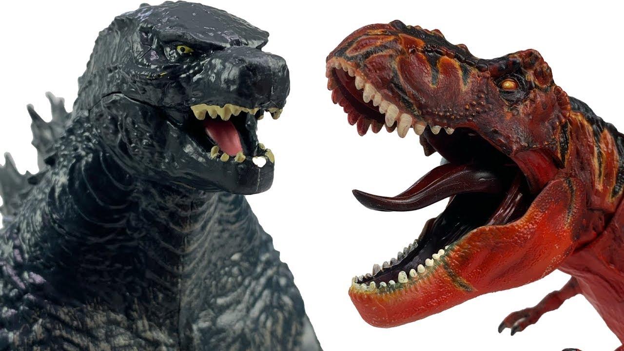 HUGE Godzilla vs. Kong Fight Compilation! Jurassic World Dinosaur Battles, MechaGodzilla, and MORE!