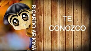 KARAOKE RICARDO ARJONA TE CONOZCO con coro 2017