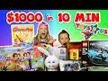 $1000 in 10 min Shopping Challenge!!!