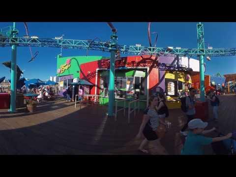 Z-CAM S1 - Santa Monica footage - autostitched AVP