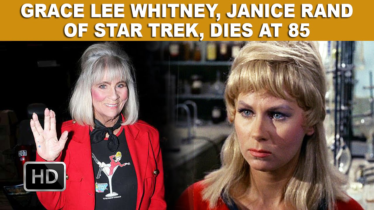 Grace Lee Whitney Janice Rand Of Star Trek Dies At 85 Youtube
