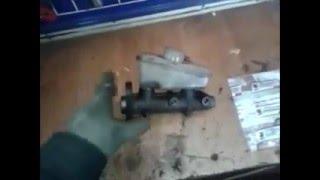 Как отремонтировать главный тормозной цилиндр.Repair of the main brake cylinder.
