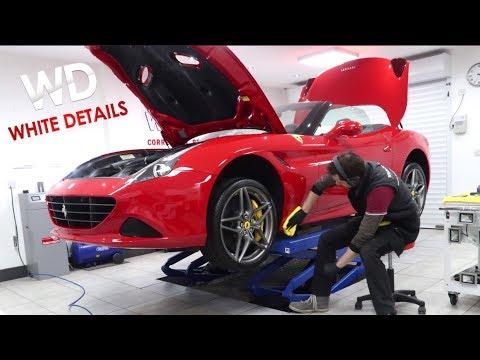 Yiannimize to WhiteDetails. Ferrari California - VLOG 052