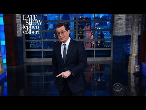 Thumbnail: Stephen Miller, You're Invited To Tell Lies On The Late Show