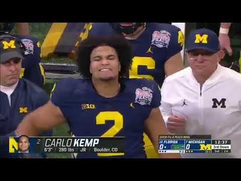 College Football 2018 : #10 Florida Vs. #7 Michigan | Chick-fil-A Peach Bowl