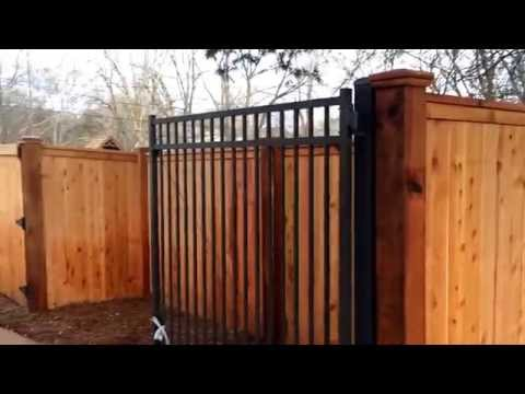 Cedar Privacy Fence Installed In Nashville TN - K & C Fence Company Www.fencenashville.net