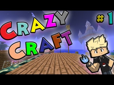 ★NEW SERIES★ CRAZY CRAFT #1 w/ Facecam! | I NEED TO FLY!