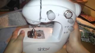 Обзор мини швейной машинки slinb. Видео-урок шитья
