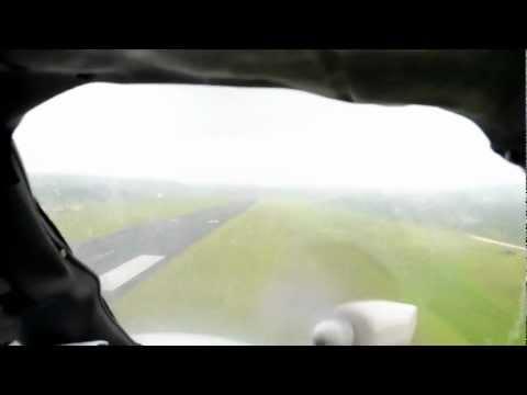 Grass runway at Vanuatu's International Airport