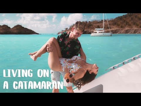 Sailing a Catamaran in the Caribbean with SLV