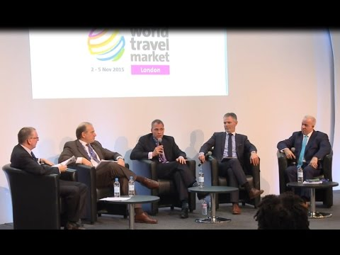 Airline Industry Panel at World Travel Market November 2015