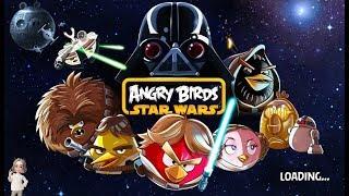 Энгри Бердз Звездные войны 3 серия игры как мультик, играть бесплатно Angry Birds Star Wars part 3