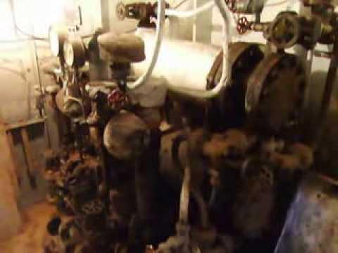 Steamship Freshspring boiler room tour